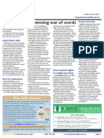 Pharmacy Daily for Fri 06 Jan 2017 - Dispensing war of words, Cancer Council defends Peppa spray, Dabigatran foil blister pack, Events Calendar and much more