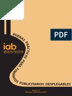 Buenas Practicas Formatos Publicitarios Desplegables IAB Sep 2011