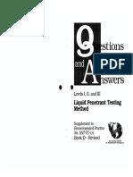 142108934 ASNT PT Levels I II III Questions Answers