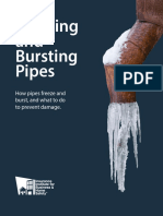 Freezing & Bursting Pipes