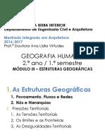 Geografia Humana.móduloiii.prof.Ana Virtudes. Mia 2016-2017
