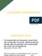 Solucoes Anestesicas Aula Ufpi 1