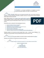RoSo Consultor-Informacion de Servicios de Consultoria y Capacitacion-Empresas
