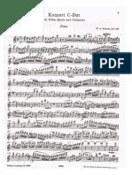 Mozart - Flute and Harp Concerto in C major, K.299.pdf