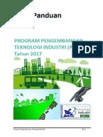 Buku Panduan Program Pengembangan Teknologi Industri 2017 d