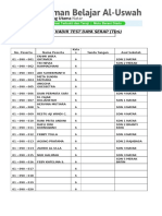 DAFTAR ABSEN TDS SEMESTERAN KLS 6.doc