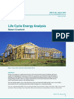 Life Cycle Energy Analysis