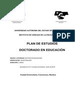 Doctorado en Educación Plan