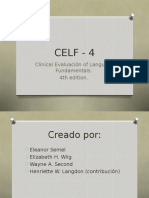 Celf - 4 Completo