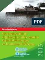 Experiencias Control Vectorial Amazonia Peruana