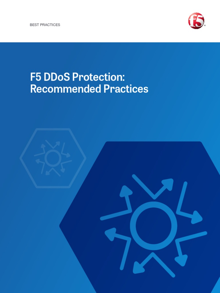 DDoS Recommended Practices pdf | Denial Of Service Attack | Domain