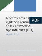Lineamientos Para La Vigilancia Centinela de ETI_sept 2015_DF