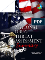 2016 NDTA Summary| The 2016 National Drug Threat Assessment