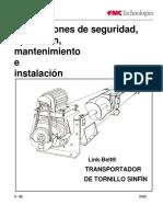 Manual Tornillos Transportadores Fmc-link Belt