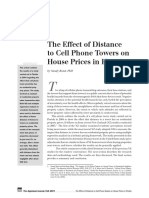 11_Bond - The Effect of Distance to Cell Phone Towers