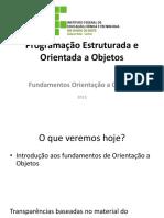 Aula-09 - Introducao OO