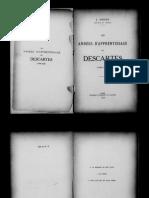 1928Sirven, Les années d'apprentissage de Descartes