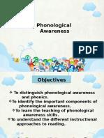 Phonological Awareness Slot