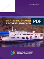 Statistik Transportasi Provinsi Gorontalo 2015