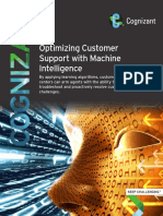 Optimizing Customer Support with Machine Intelligence