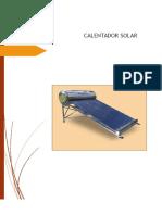 Calentador Solar Final