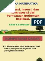 Konversi, Inversi, dan Kontraposisi dari Pernyataan.pptx