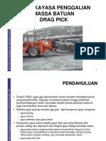 PPTA354-4B Rock Excavation Cutting Drag