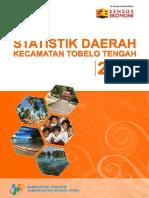 Statistik Kecamatan Tobelo Tengah 2016