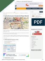 7 Aplicativos Para Criação de Mapa Mental - MapaMental