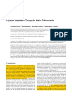 Arginine Adjunctive Therapy in Active Tuberculosis