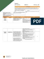 Planificación Unidad Didáctica Orientación Sexto