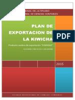 Plan de Exportacion de Kiwicha 1