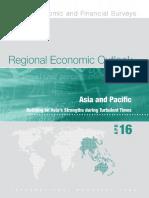 IMF Regional Economic Outlook