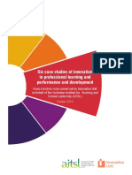 Re00067 Six Case Studies of Innovation in Professional Learning and Performance and Development Report Innovation Unit Oct 2013-2