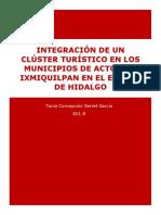 Ensayo Integración de Un Clúster Turístico en Los Municipios de Actopan