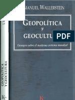 Geopolitica y Geocultura