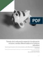 Tránsito de La Educación Especial a La Educación Inclusiva