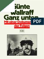 WALRAFF Gunter - Ganz Unten