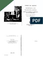 2- Santo Tomas de Aquino - Tratado de La Ley (1)