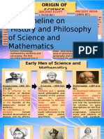 Timeline on History and Philosophy of Science and Mathematics