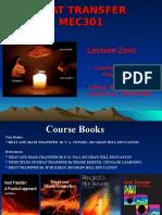 Zero Lecture Mec301