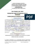 Reglamento Para La Elaboracion de Trabajo de Grado 2010 Vf[1]