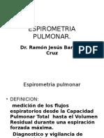 ESPIROMETRIA PULMONAR