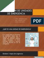 Localización de Unidades de Emergencia