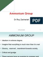 Ammonium Group