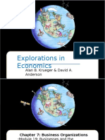 Exploration in Economics
