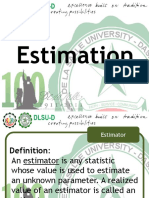Engineering Probability and Statistics Estimation