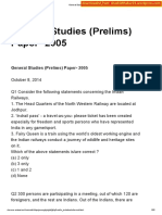 2005 GS Prelims Paper [Shashidthakur23.Wordpress.com]