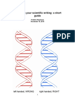 Scientific Writing v 33