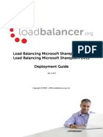 Microsoft Sharepoint Deployment Guide